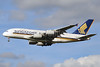 Singapore Airlines Airbus A380-841 9V-SKR (msn 082) LHR (Karl Cornil). Image: 920692.