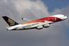 Singapore Airlines Airbus A380-841 9V-SKJ (msn 045) (50th Anniversary - SG50) LHR (Antony J. Best). Image: 929513.