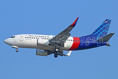 Sriwijaya Air-NAM Air Boeing 737-524 WL PK-CLC (msn 27323) CGK (Michael B. Ing). Image: 929016.