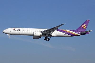 Thai Airways International Boeing 777-3AL ER HS-TKP (msn 41525) LAX (Michael B. Ing). Image: 928618.
