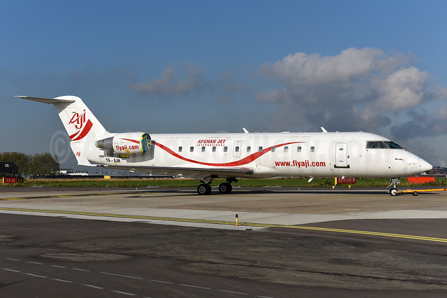 Afghan Jet International Bombardier CRJ200 (CL-600-2B19) YA-AJH (msn 7431) MST (Ton Jochems). Image: 939801.