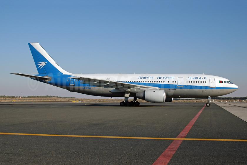 Ariana Afghan Airlines Airbus A300B4-203 YA-BAB (msn 180) SHJ (Ton Jochems). Image: 954177.