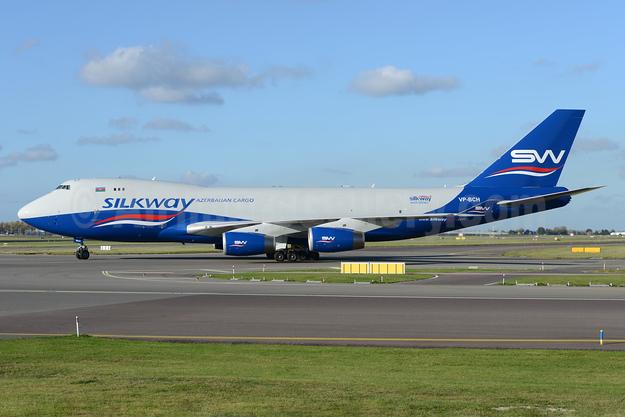 Silkway Azerbaijan Cargo (Silkway West Airlines) Boeing 747-467F VP-BCH  (msn 30804) AMS (Ton Jochems). Image: 935438.