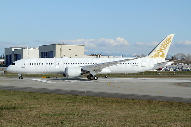 Gulf Air's first 787-9, to be revealed in a new livery as A9C-FA