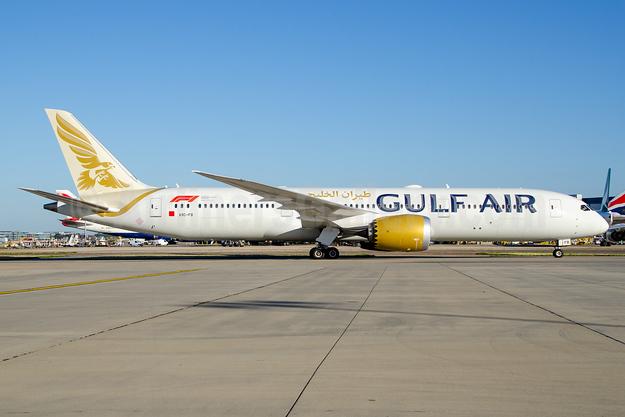 Gulf Air Boeing 787-9 Dreamliner A9C-FB (msn 39997) LHR (Wingnut). Image: 945083.