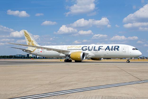 Gulf Air Boeing 787-9 Dreamliner A9C-FA (msn 39996) LHR (Wingnut). Image: 944463.