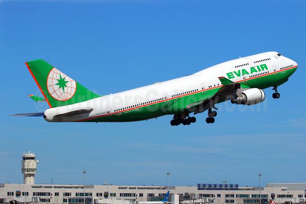 EVA Air Boeing 747-45E B-16411 (msn 29111) TPE (Manuel Negrerie). Image: 938933.