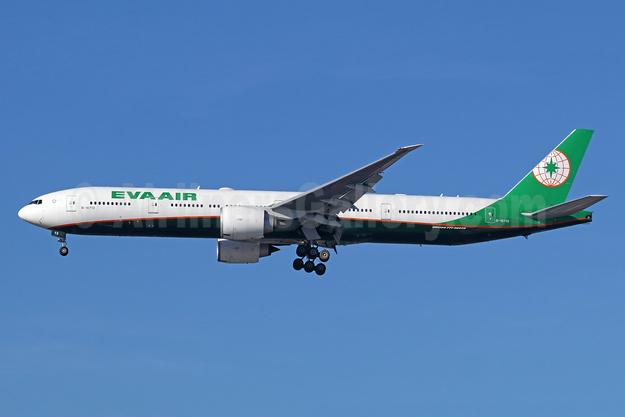 EVA Air Boeing 777-35E ER B-16713 (msn 33756) LAX (Michael B. Ing). Image: 947035.