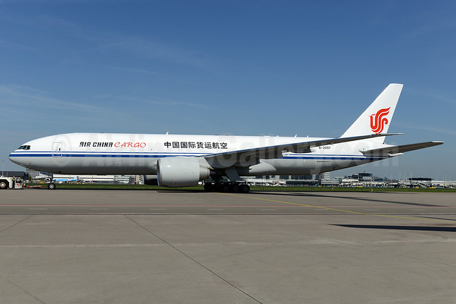 Air China Cargo Boeing 777-FFT B-2097 (msn 44680) AMS (Ton Jochems). Image: 922642.