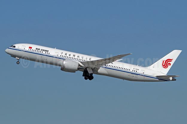Air China Boeing 787-9 Dreamliner B-7898 (msn 34310) LAX (Michael B. Ing). Image: 940236.
