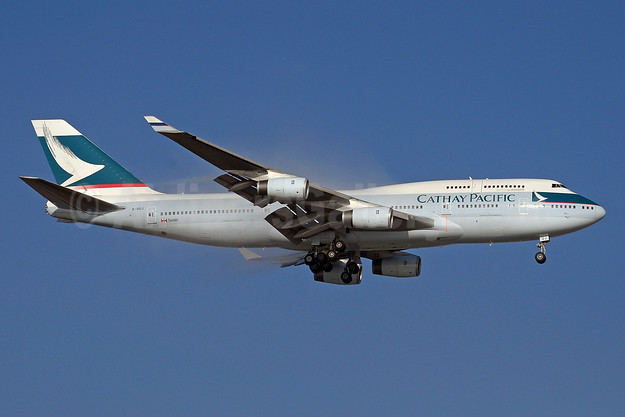 Cathay Pacific operates the last Boeing 747 passenger flight on October 1, 2016
