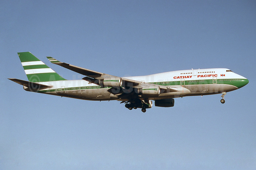 Cathay Pacific Airways Boeing 747-467 VR-HOO (msn 23814) YYZ (TMK Photography). Image: 937245.