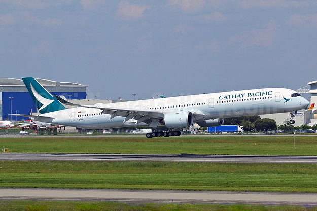 First Airbus A350-1000, delivered on June 19, 2018