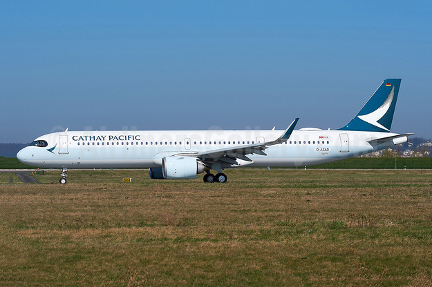 Cathay Pacific Airways Airbus A321-251NX WL D-AZAD (B-HPE) (msn 10171) XFW (Gerd Beilfuss). Image: 953389.