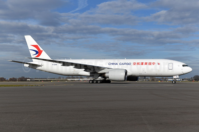 China Cargo Airlines Boeing 777F B-220E (msn 66623) AMS (Ton Jochems). Image: 952976.