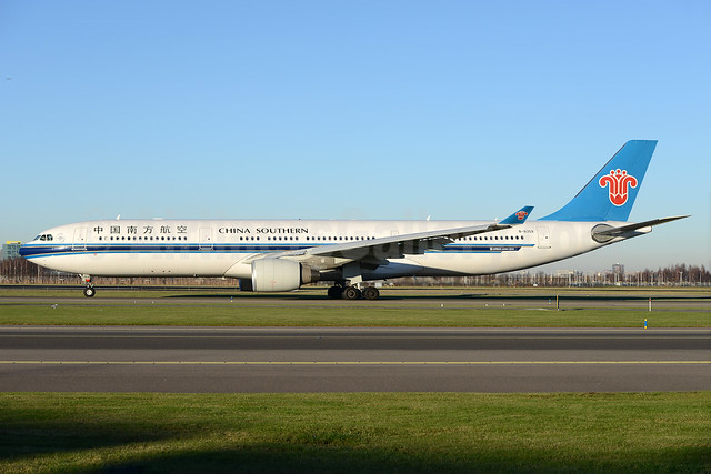 China Southern Airlines Airbus A330-343 B-8359 (msn 1714) AMS (Ton Jochems). Image: 935847.