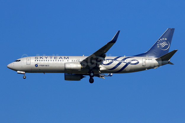 China Southern Airlines Boeing 737-81B WL B-5640 (msn 38918) (SkyTeam) TPE (Manuel Negrerie). Image: 944381.