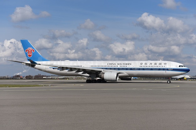 China Southern Airlines Airbus A330-323 B-5965 (msn 1593) AMS (Ton Jochems). Image: 941405.