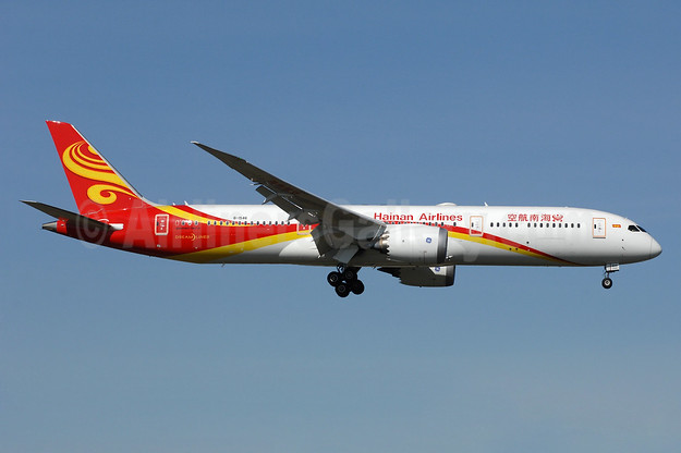Hainan Airlines Boeing 787-9 Dreamliner B-1546 (msn 62717) YYZ (TMK Photography). Image: 937706.