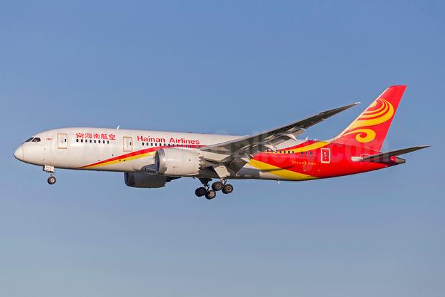 Hainan Airlines Boeing 787-8 Dreamliner B-2750 (msn 34942) ARN (Stefan Sjogren). Image: 938655.