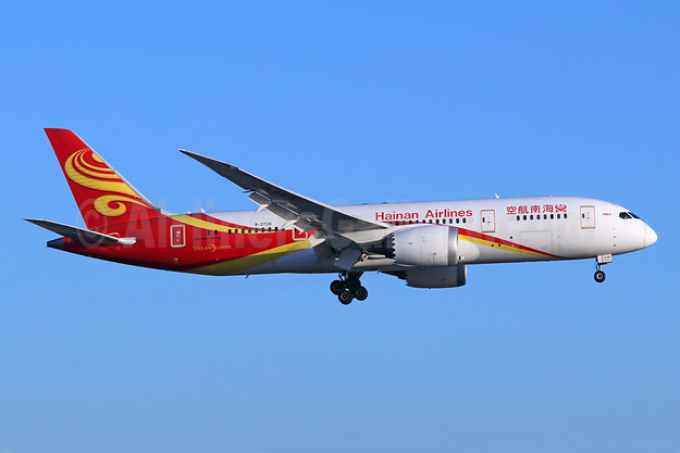 Hainan Airlines Boeing 787-8 Dreamliner B-2728 (msn 34938) LAX (Michael B. Ing). Image: 944785.