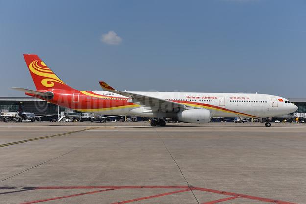 Hainan Airlines Airbus A330-343 B-6520 (msn 1168) BRU (Ton Jochems). Image: 943444.