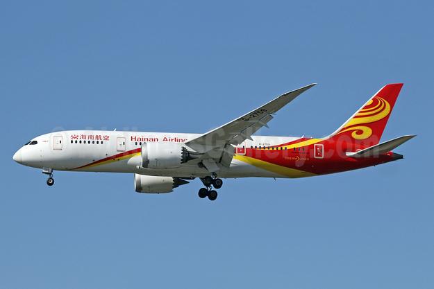 Hainan Airlines Boeing 787-8 Dreamliner B-2759 (msn 38056) LHR (SPA). Image: 941739.