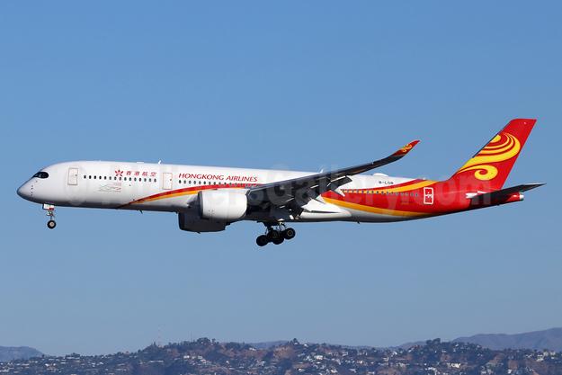 Hong Kong Airlines Airbus A350-941 B-LGB (msn 153) LAX (Michael B. Ing). Image: 948427.