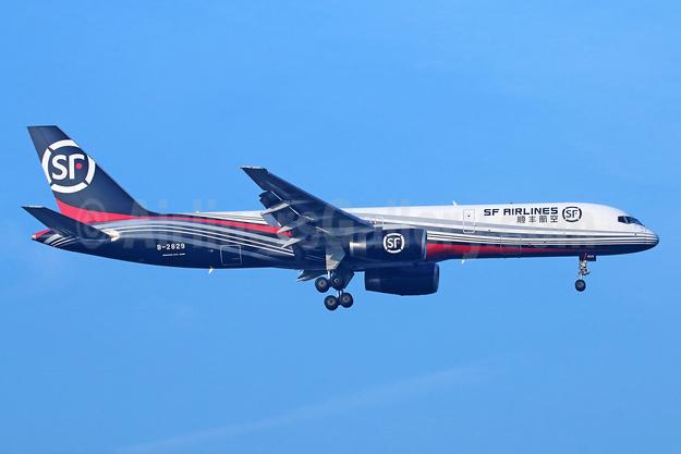 SF Airlines Boeing 757-25C (F) B-2829 (msn 25900) PEK (Michael B. Ing). Image: 929924.