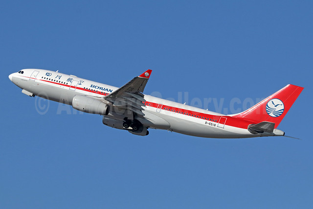 Sichuan Airlines Airbus A330-243 B-6518 (msn 1082) LAX (Michael B. Ing). Image: 935782.