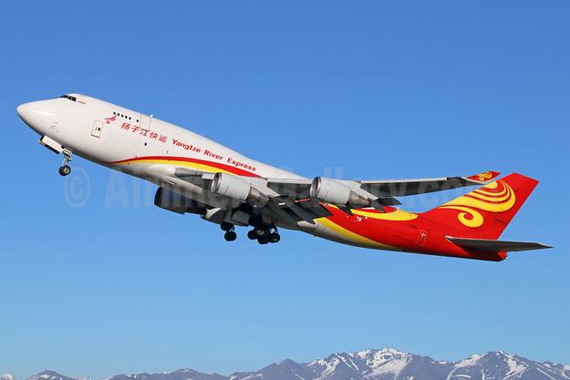 Yangtze River Express Boeing 747-481 (BCF) B-2432 (msn 28283) ANC (Michael B. Ing). Image: 928002.