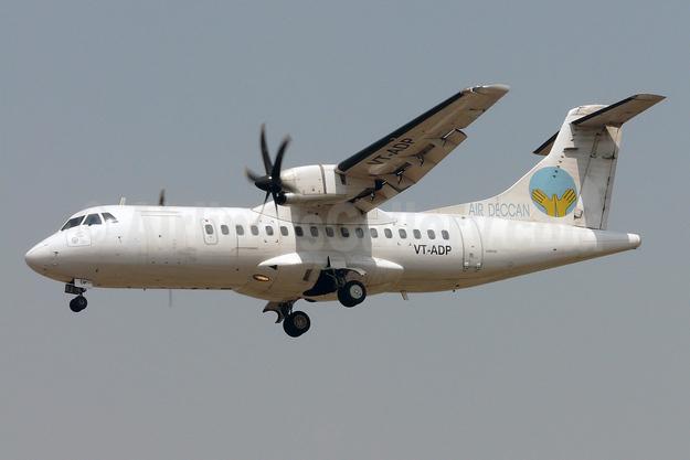 Air Deccan ATR 42-500 VT-ADP (msn 515) BOM  (Sean D'Silva). Image: 901279.