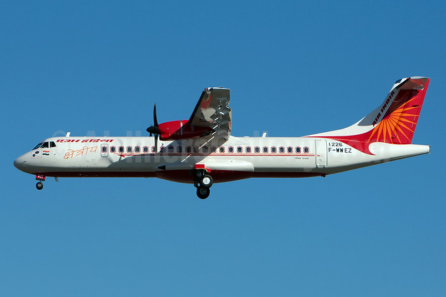 Second ATR 72-600 for Air India Regional