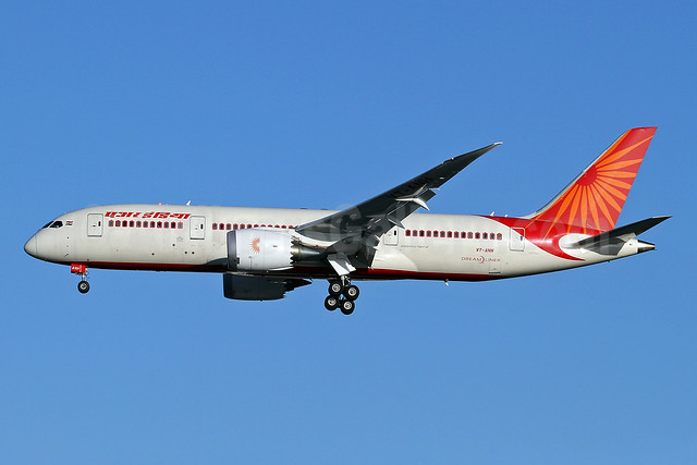 Air India Boeing 787-8 Dreamliner VT-ANH (msn 36276) LHR (Keith Burton). Image: 921890.