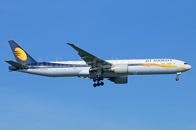 Jet Airways (Etihad Airways) Boeing 777-35R ER A6-JAD (msn 35158) BKK (Michael B. Ing). Image: 937748.