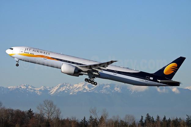 Jet Airways Boeing 777-35R ER N834BA (VT-JEL) (msn 36563) PAE (Nick Dean). Image: 904299.