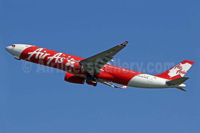 AirAsia X (Indonesia) (AirAsia.com) Airbus A330-343 PK-XRA (msn 716) DPS (Pascal Simon). Image: 939293.