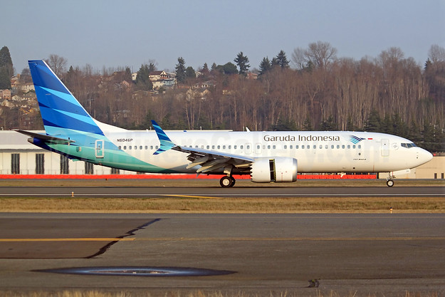 First MAX 8, first flight on December 5, 2017, delivered on December 21, 2107