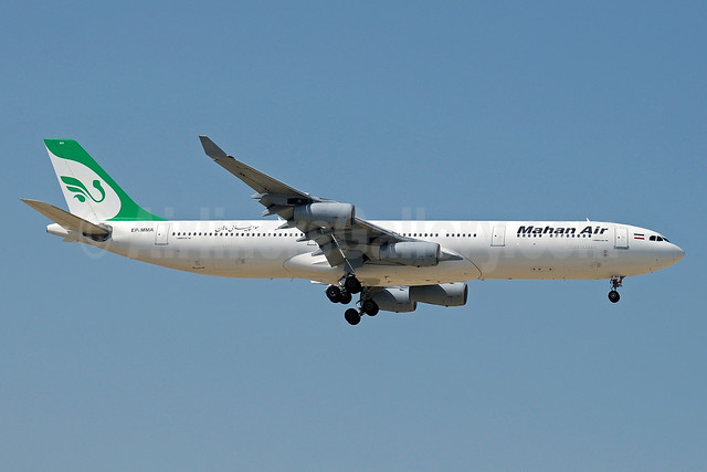 Mahan Air Airbus A340-311 EP-MMA (msn 056) DXB (Paul Denton). Image: 912398.