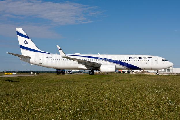 El Al Israel Airlines Boeing 737-958 ER WL 4X-EHI (msn 41559) MUC (Gunter Mayer). Image: 955218.