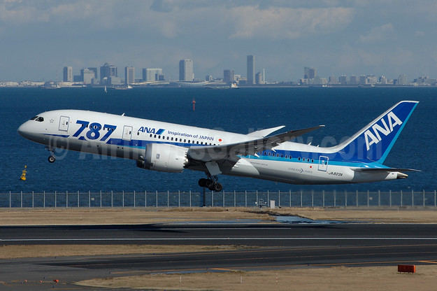 "ANA (All Nippon Airways) Boeing 787-8 Dreamliner JA823A (msn 42246) ""787"" HND (TMK Photography). Image: 945375."