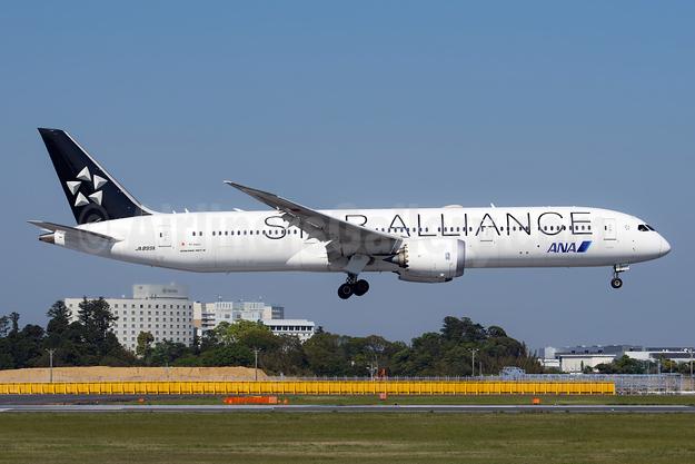ANA (All Nippon Airways) - Air Japan Boeing 787-9 Dreamliner JA899A (msn 34519) (Star Alliance) NRT (Akira Uekawa). Image: 953557.