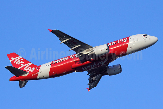 AirAsia (Japan) Airbus A320-216 JA03AJ (msn 5325) (Now Everyone Can Fly) NRT (Michael B. Ing). Image: 912558.