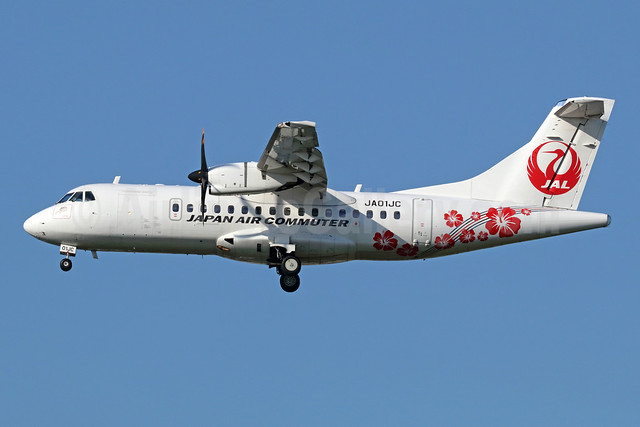 JAL - Japan Air Commuter ATR 42-600 F-WWLT (JA01JC) (msn 1215) ITM (Michael B. Ing). Image: 942456.