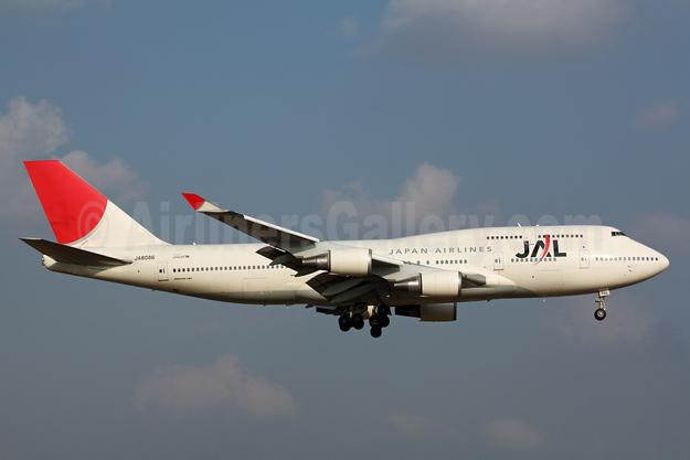 JAL-Japan Airlines Boeing 747-446 JA8086 (msn 25308) NRT (Michael B. Ing). Image: 901544.