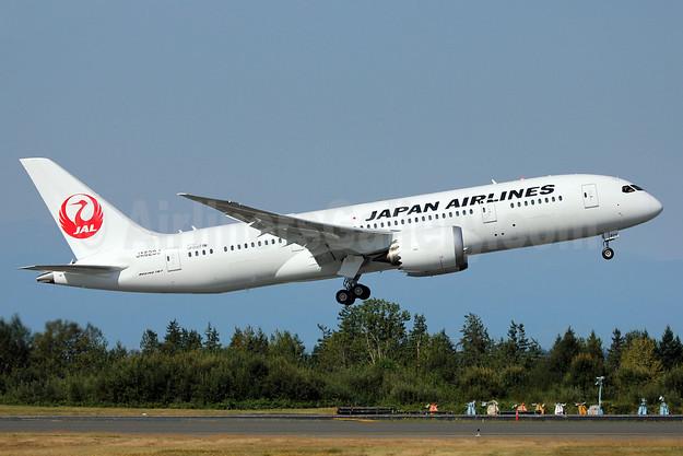 JAL-Japan Airlines Boeing 787-8 Dreamliner JA828J (msn 38438) PAE (Nick Dean). Image: 909162.