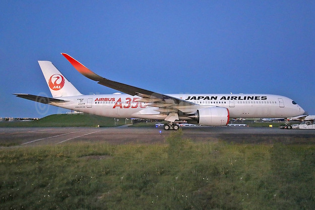 JAL's first Airbus A350, will become JA01XJ