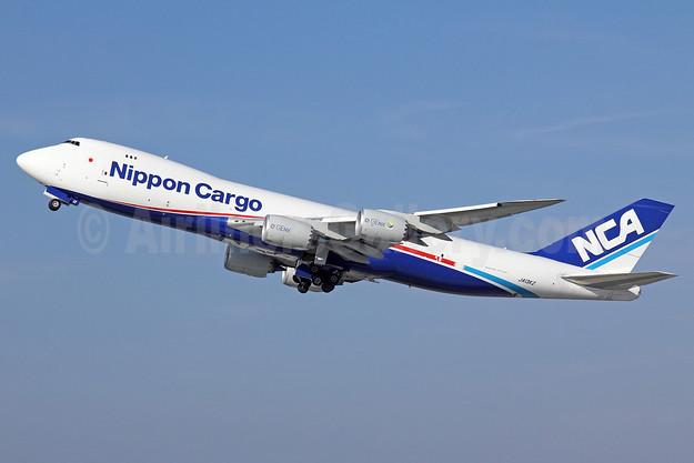 NCA-Nippon Cargo Airlines Boeing 747-8KZF JA13KZ (msn 36138) LAX (Michael B. Ing). Image: 909961.