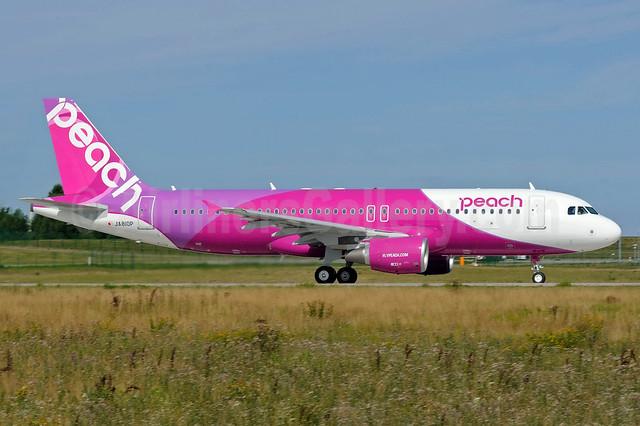 Peach Aviation (Japan) Airbus A320-214 JA810P (msn 5724) XFW (Gerd Beilfuss). Image: 913252.