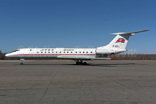 Air Koryo Tupolev Tu-134B-3 P-813 (msn 66215) YJS (Rolf Wallner). Image: 944073.